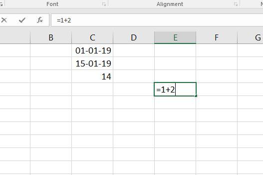 Hướng dẫn nhập hàm công thức tính toán trong excel 2016