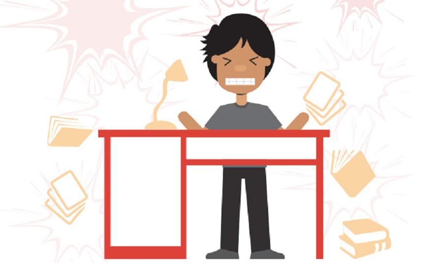 Cách vượt qua áp lực stress trong việc học tập thi cử