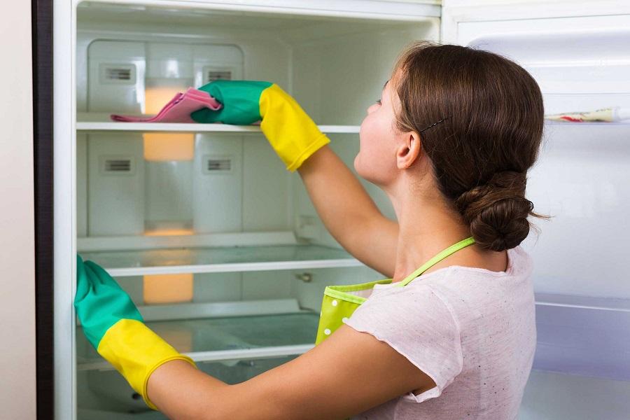Hướng dẫn vệ sinh tủ lạnh đúng cách