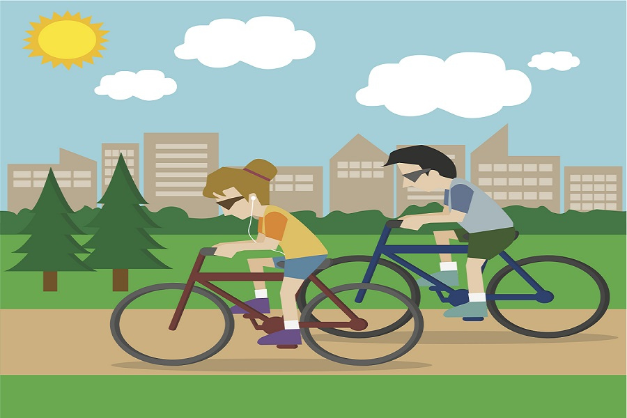 Những lợi ích cho sức khỏe khi đi xe đạp mỗi ngày
