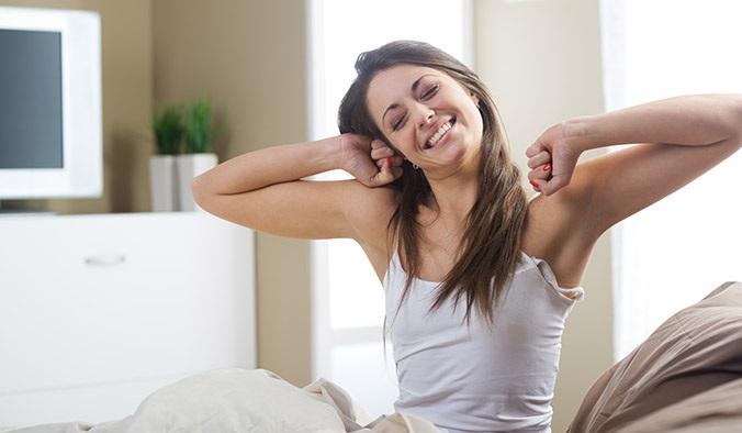 Chế độ ăn uống cũng ảnh hưởng đến thói quen dậy sớm của bạn