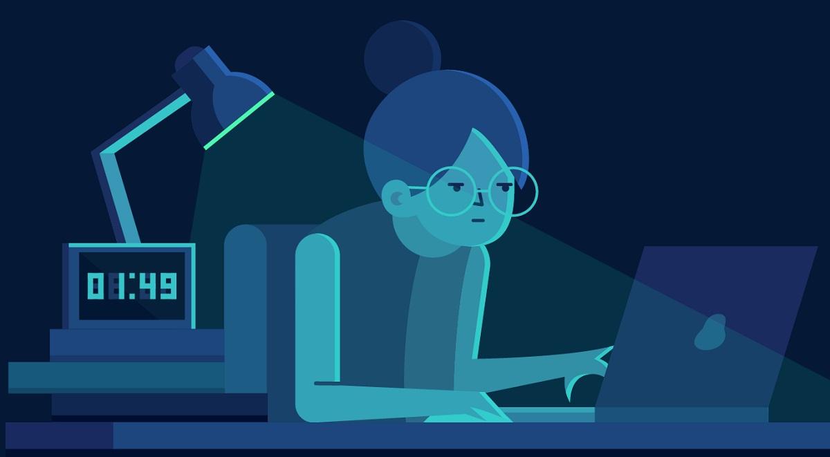Thức khuya nhiều gây ảnh hưởng xấu tới cơ thể