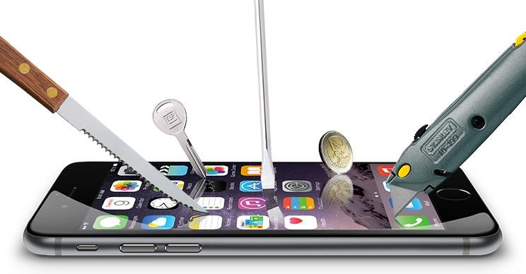 Cấu tạo của miếng dán cường lực cho điện thoại