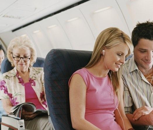 Kinh nghiệm để tránh bị say máy bay