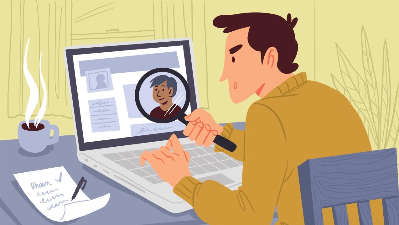 Kinh nghiệm khi tìm kiếm thông tin một người trên mạng