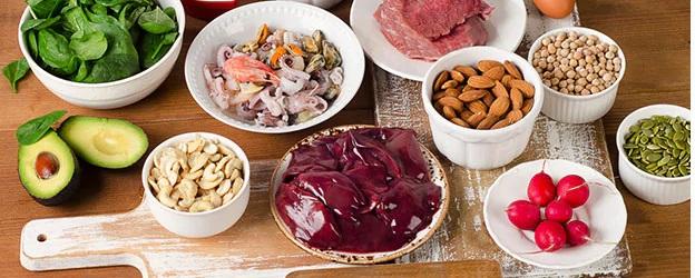 Tăng cường thực phẩm có chứa chất kẽm để tốt cho da
