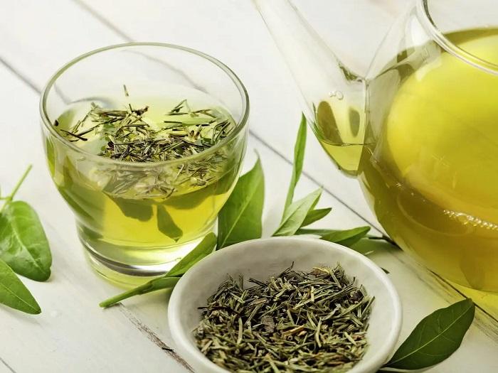 Uống trà xanh mỗi ngày để giúp làn da khỏe mạnh