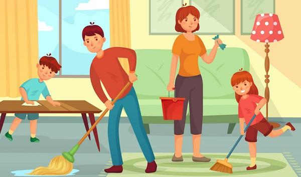 Tổ chức hoạt động tập thể cho các thành viên trong gia đình